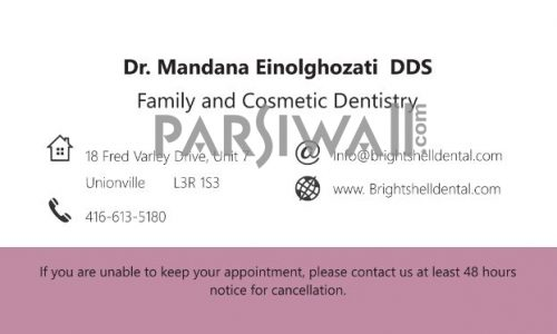 Dr. Mandana Einolghozati